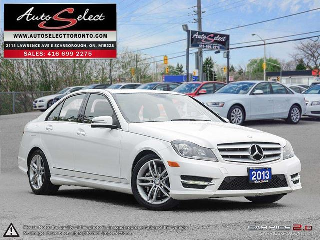 2013 MERCEDES-BENZ C-CLASS 4Matic C300 AWD ONLY 99K! **SPORT PKG** PREMIUM PKG in Scarborough, Ontario