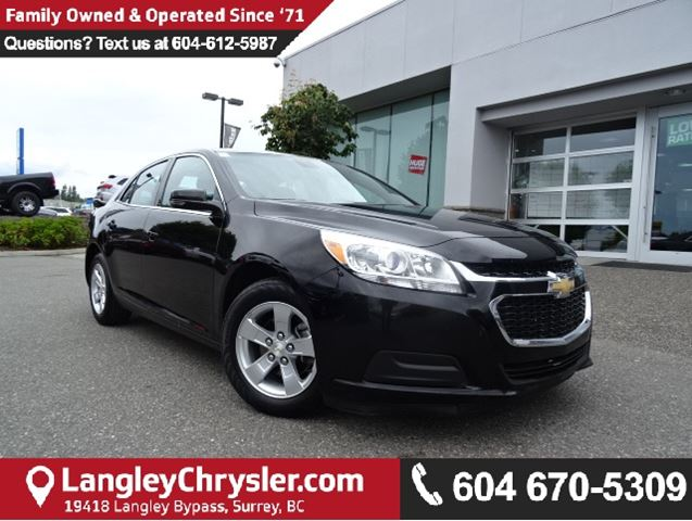 2016 CHEVROLET MALIBU LT in Surrey, British Columbia