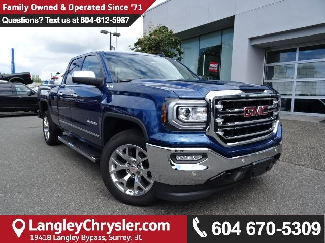 2016 GMC Sierra 1500 SLT in Surrey, British Columbia