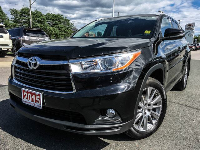 2015 Toyota Highlander XLE XLE-ONE OWNER+SERVICED HERE! in Cobourg, Ontario