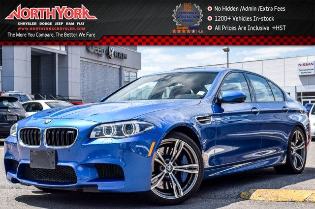 2014 BMW M5  DriverAssistancePlus,ExecutivePkgs HarmonKardon Sunroof 20Alloys  in Thornhill, Ontario