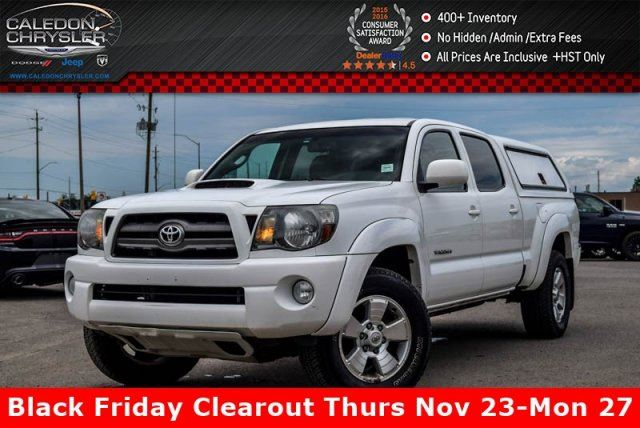 2010 Toyota Tacoma SR5 4x4 Leather Heated Front Seats Pwr Windows Pwr Locks Keyless Entry 17Alloy Rims in Bolton, Ontario