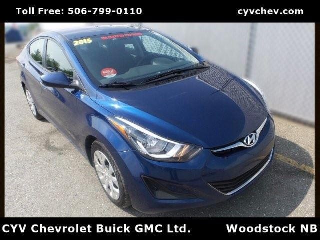 2015 Hyundai Elantra GL in Woodstock, New Brunswick