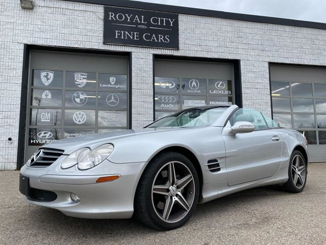 2003 MERCEDES-BENZ SL-CLASS Hard-Top Convertible Navigation AMG wheels in Guelph, Ontario