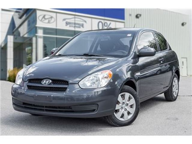 2010 Hyundai Accent 3Dr GL at in Mississauga, Ontario