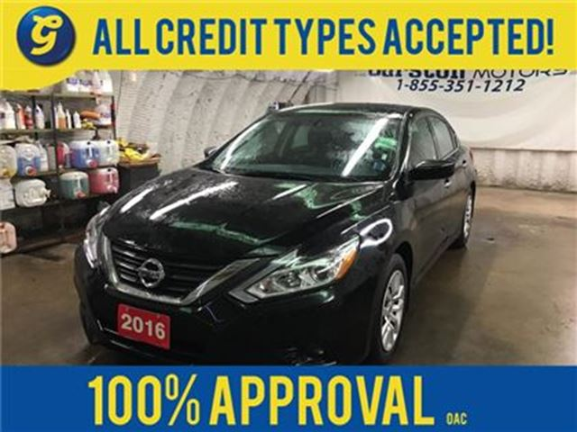 2016 Nissan Altima S*PUSH BUTTON START*BACK UP CAMERA*FOG LIGHTS*BLUE in Cambridge, Ontario