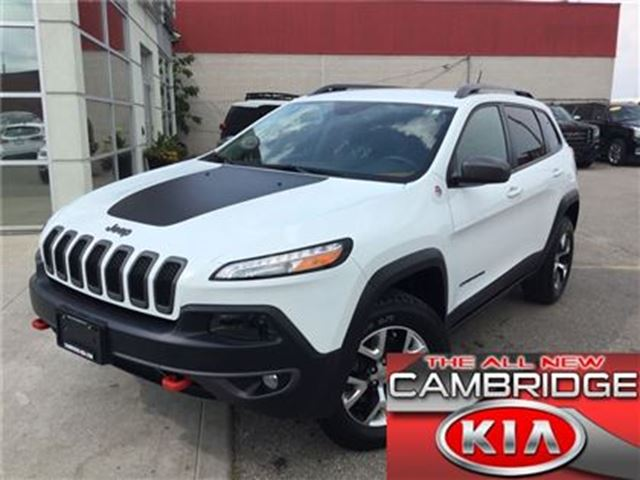 2015 Jeep Cherokee Trailhawk in Cambridge, Ontario