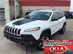 2015 Jeep Cherokee TRAILHAWK LEATHER NAV in Cambridge, Ontario