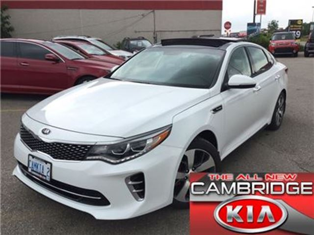 2017 Kia Optima SX TURBO **DEALER DEMO CALL FOR SPECIAL PRICE** in Cambridge, Ontario
