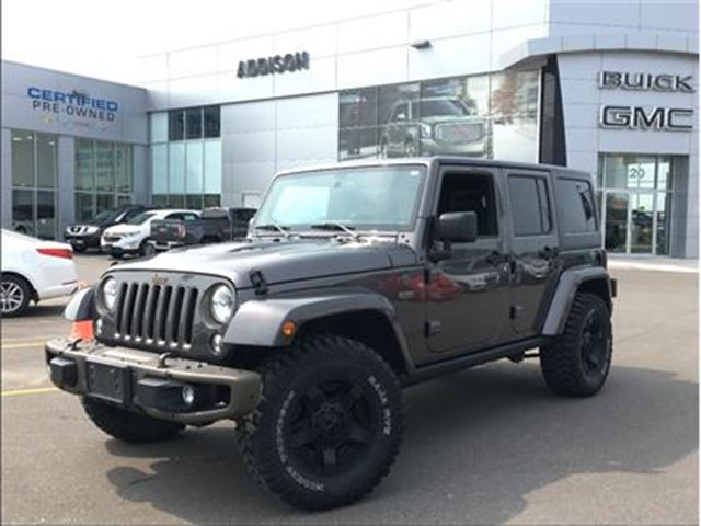 2016 Jeep Wrangler Unlimited Sahara 75 Anniversary edition in Mississauga, Ontario