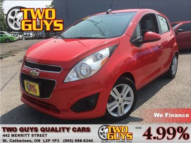 2015 Chevrolet Spark 1LT CVT BLUETOOTH SATELLITE RADIO SIRIUS in St Catharines, Ontario