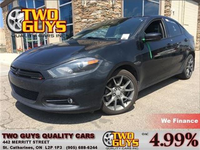 2013 Dodge Dart SXT/Rallye NAVIGATION BACK UP CAMERA SUN ROOF in St Catharines, Ontario