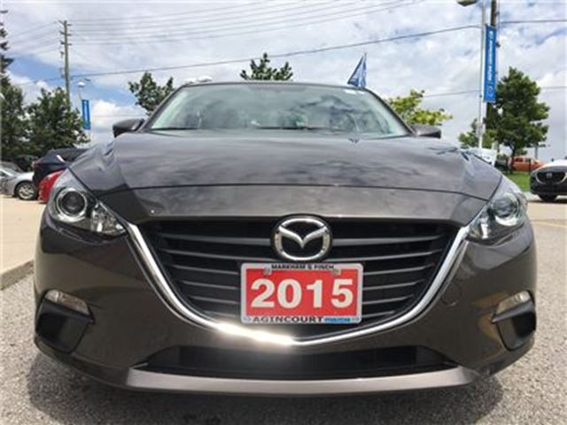 2015 Mazda MAZDA3 GS - FREE NAVI OR WINTER TIRES*, LOW KMS in Scarborough, Ontario