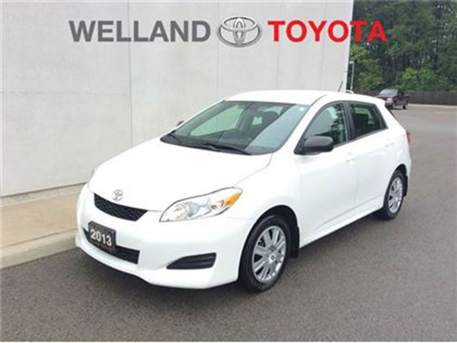 2013 Toyota Matrix convenience package in Welland, Ontario