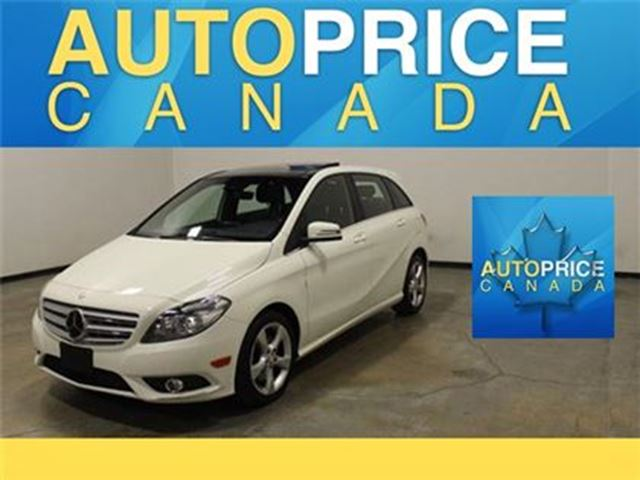 2014 Mercedes-Benz B-Class SportsTourer NAVI PANOROOF P-SEAT in Mississauga, Ontario