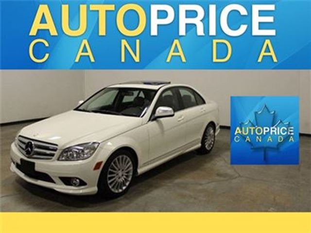 2009 MERCEDES-BENZ C-CLASS 4MATIC MOONROOF LEATHER in Mississauga, Ontario