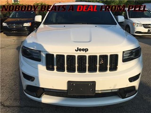 2015 Jeep Grand Cherokee Overland**ECODIESEL**LOADED** in Mississauga, Ontario