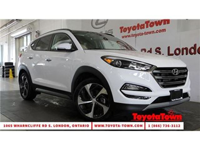 2017 Hyundai Tucson 1.6T SE AWD LEATHER MOONROOF in London, Ontario