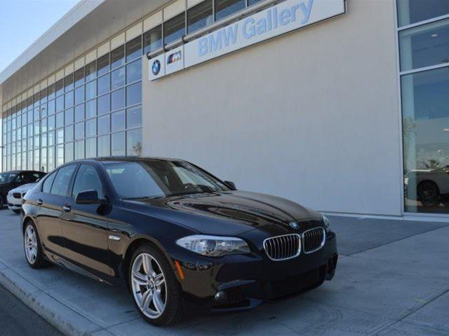 2013 BMW 5 SERIES xDrive in Calgary, Alberta