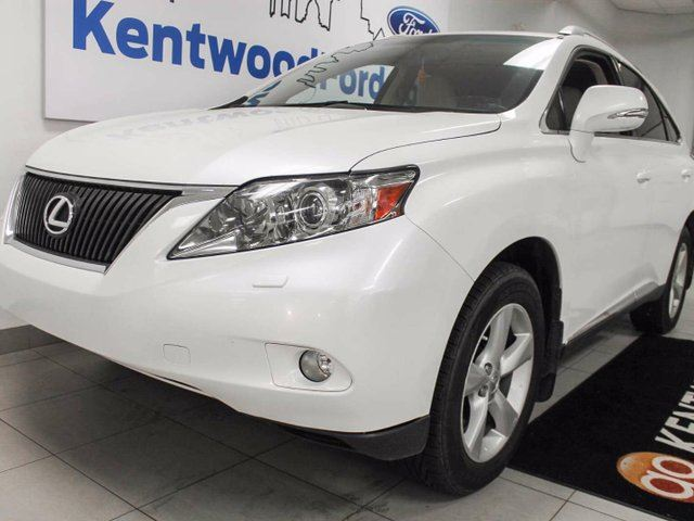 2012 LEXUS RX 350 RX 350 with sunroof, heated/cooled front seats, power liftgate and push start in Edmonton, Alberta
