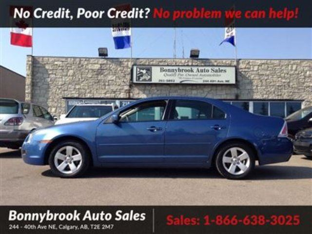 2009 FORD FUSION SE bluetooth low kms in Calgary, Alberta
