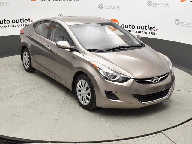 2013 HYUNDAI ELANTRA GL 4dr Sedan in Red Deer, Alberta