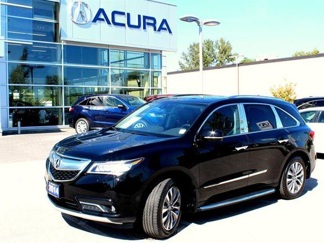 2014 ACURA MDX Navigation at in Surrey, British Columbia