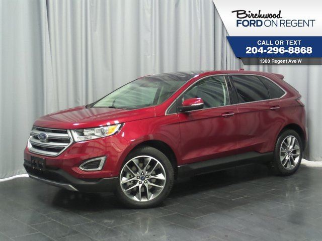 2016 Ford Edge Titanium AWD*Leather/Heated Steering Wheel/Sky Roof* in Winnipeg, Manitoba