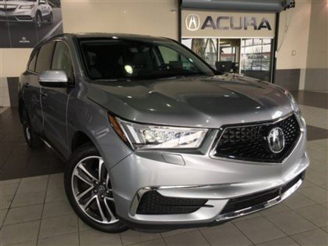 2017 Acura MDX Navigation Pkg. Backup Camera Blind Spot Info in Red Deer, Alberta