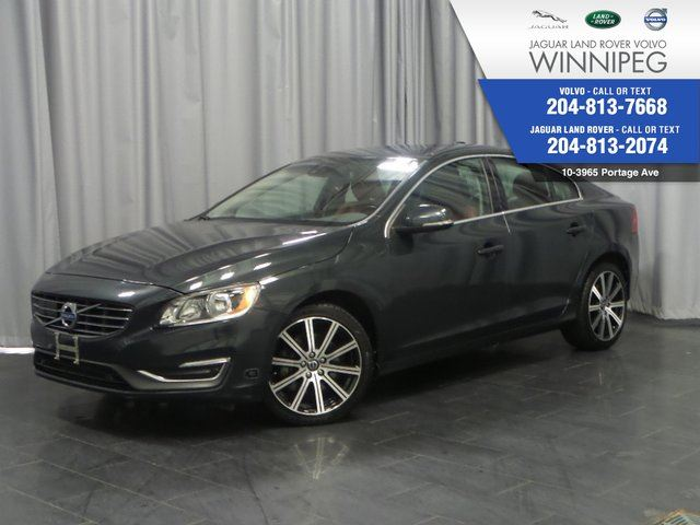 2014 Volvo S60 4dr Sdn T6 AWD *LOCAL LEASE RETURN* *LOW KM* in Winnipeg, Manitoba