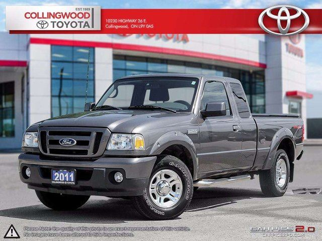 2011 Ford Ranger SPORT 4X2 SUPER CAB ONE OWNER in Collingwood, Ontario