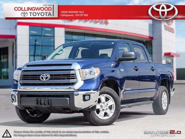 2015 Toyota Tundra SR5 PLUS 5.7L V8 4X4 CREWMAX in Collingwood, Ontario
