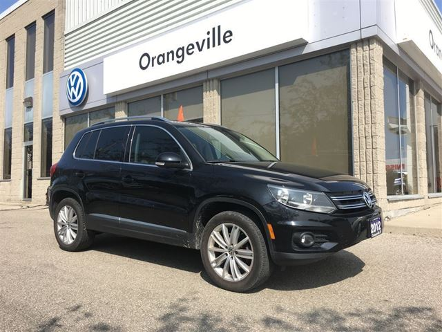 2012 Volkswagen Tiguan 2.0 TSI Highline Technology Package in Mono, Ontario