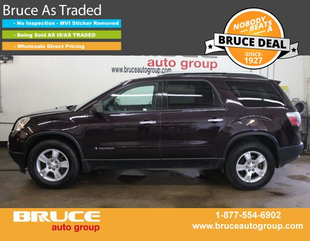 2008 GMC Acadia SLE 3.6L 6 AUTOMATIC FWD in Middleton, Nova Scotia