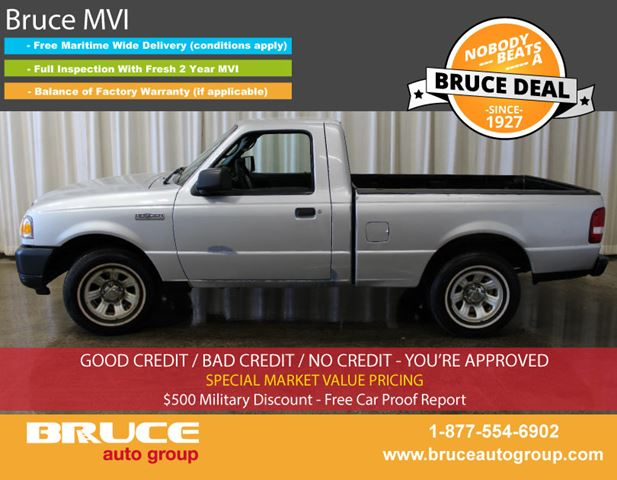 2008 Ford Ranger XL 2.3L 4 CYL AUTOMATIC RWD REGULAR CAB in Middleton, Nova Scotia