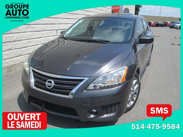 2013 Nissan Sentra *SR*NAVIGATION*TOIT*AUTOM*MAGS* in Longueuil, Quebec
