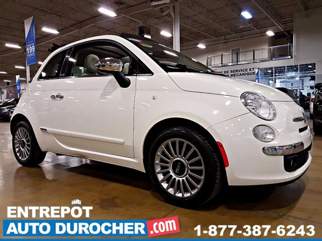 2012 Fiat 500 Dn++CAPOTABLE - AIR CLIMATISn++ in Laval, Quebec