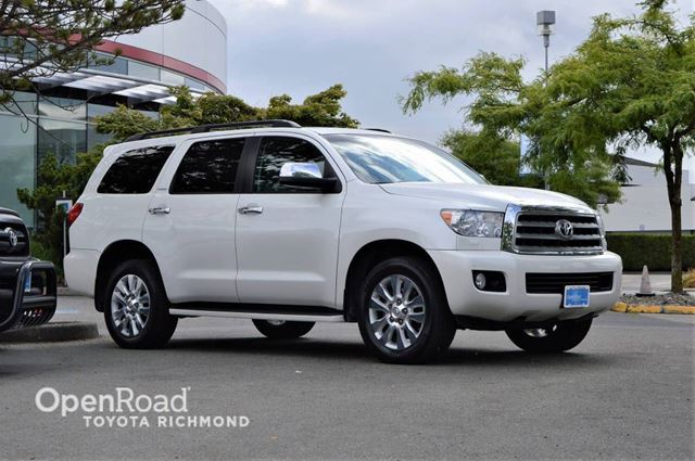 2012 Toyota Sequoia Platinum in Richmond, British Columbia