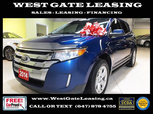 2014 Ford Edge SEL  NAVIGATION  CAMERA  NEW BRAKES  ACCIDENT F in Vaughan, Ontario