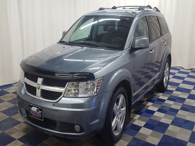 2010 DODGE JOURNEY R/T AWD/LOW KMS/LEATHER/HTD SEATS in Winnipeg, Manitoba