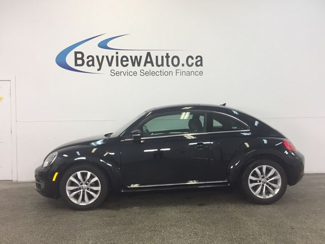 2015 Volkswagen New Beetle  COMFORTLINE- TSI! PANOROOF! LEATHER! BLUETOOTH! in Belleville, Ontario