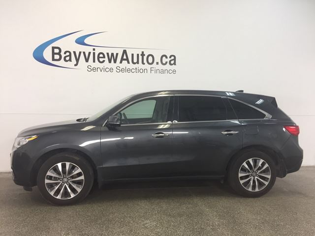 2015 Acura MDX SH- AWD! ROOF! LEATHER! NAV! BSA! PWR TRUNK!  in Belleville, Ontario
