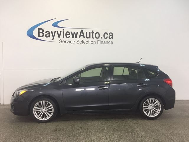 2013 Subaru Impreza LTD- 5 SPD! AWD! ROOF! LEATHER! NAV! REV CAM! in Belleville, Ontario