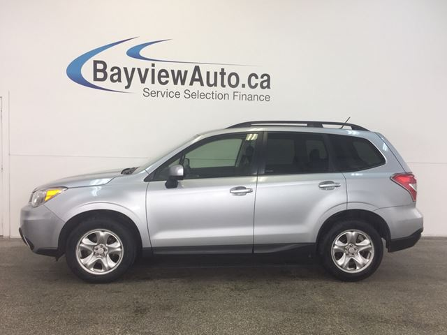 2015 Subaru Forester I - AWD! REV CAM! BLUETOOTH! CRUISE! HEATED SEATS! in Belleville, Ontario