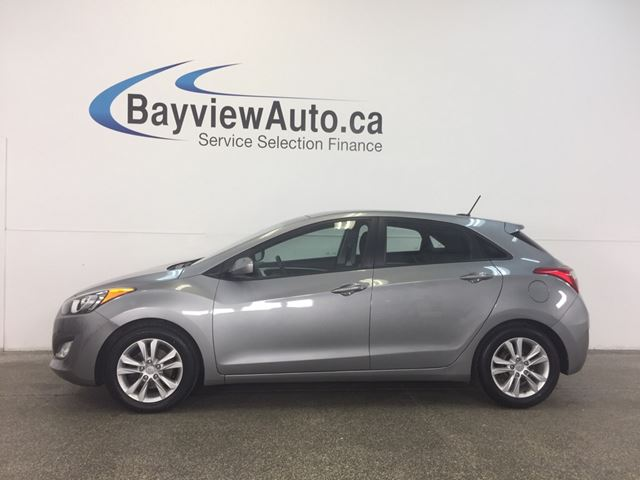 2013 Hyundai Elantra GT- 6 SPEED! PANOROOF! HEATED SEATS! BLUETOOTH! in Belleville, Ontario