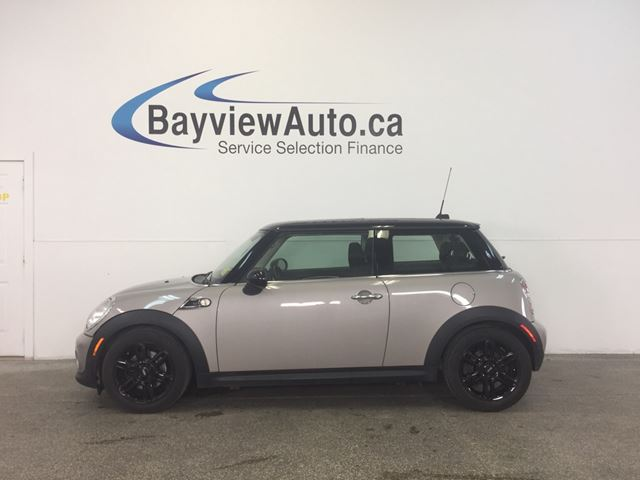 2013 MINI Cooper - 6 SPD! LEATHER! PANOROOF! JOHN BAKER! in Belleville, Ontario