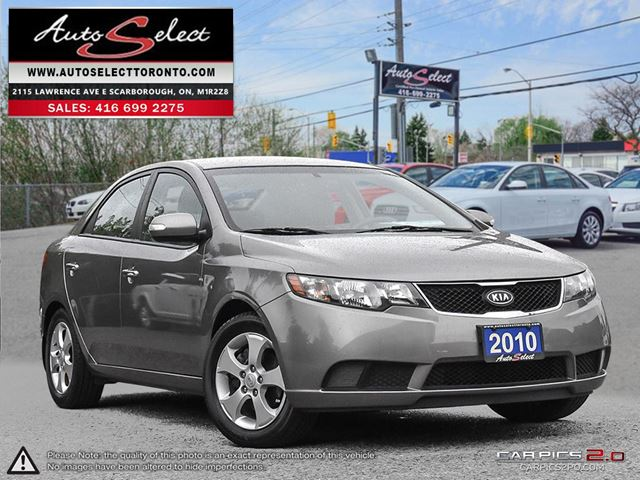2010 Kia Forte ONLY 85K! **CLEAN CARPROOF** BLUETOOTH *EX MODEL* in Scarborough, Ontario