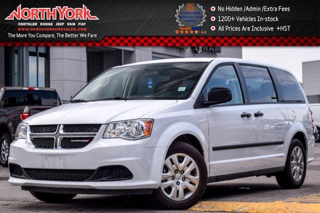 2017 Dodge Grand Caravan SXT DualClimate Cruise 3rdRowStowN'Go 7Seater  in Thornhill, Ontario