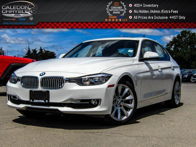 2014 BMW 3 Series 320i xDrive Navi Sunroof Bluetooth Heated Front Seats Push Start 17Alloy Rims in Bolton, Ontario