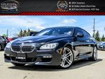 2014 BMW 6 Series 650i xDrive M PKG Navi Pano Sunroof Bluetooth Leather Keyless Entry 19Alloy Rims in Bolton, Ontario